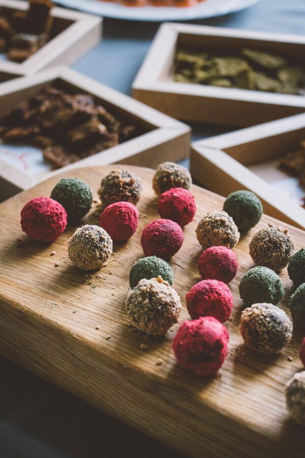Žāvētu augļu un burkānu konfektes